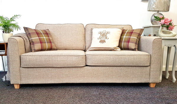 Leading Department Store Portland Fabric 165cm 2.25 Seater Sofa In A Variety Of Colours - RRP £1,099
