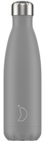 Chilly's Matt Grey 500ml Bottle