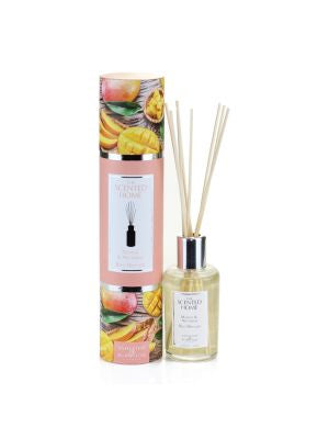Ashleigh and Burwood MANGO AND NECTARINE Reed diffuser pack of 2