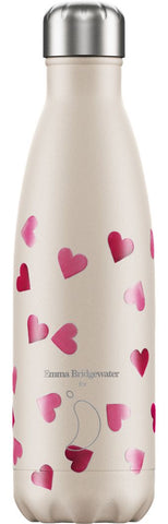 Chilly's Emma Bridgewater Hearts 500ml Bottle