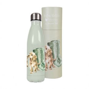 Wrendale Labrador and wellies Water Bottle