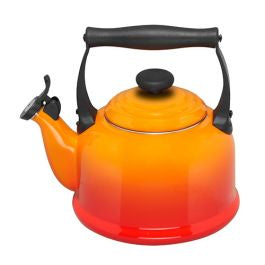 Le Creuset Volcanic Orange Traditional Kettle