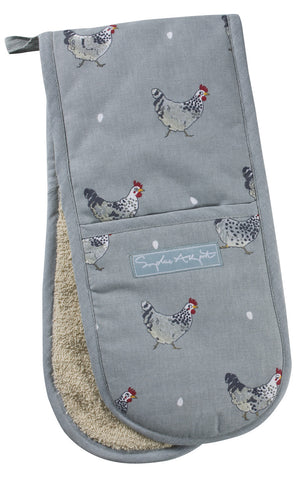 Sophie Allport Chicken Double Oven Glove