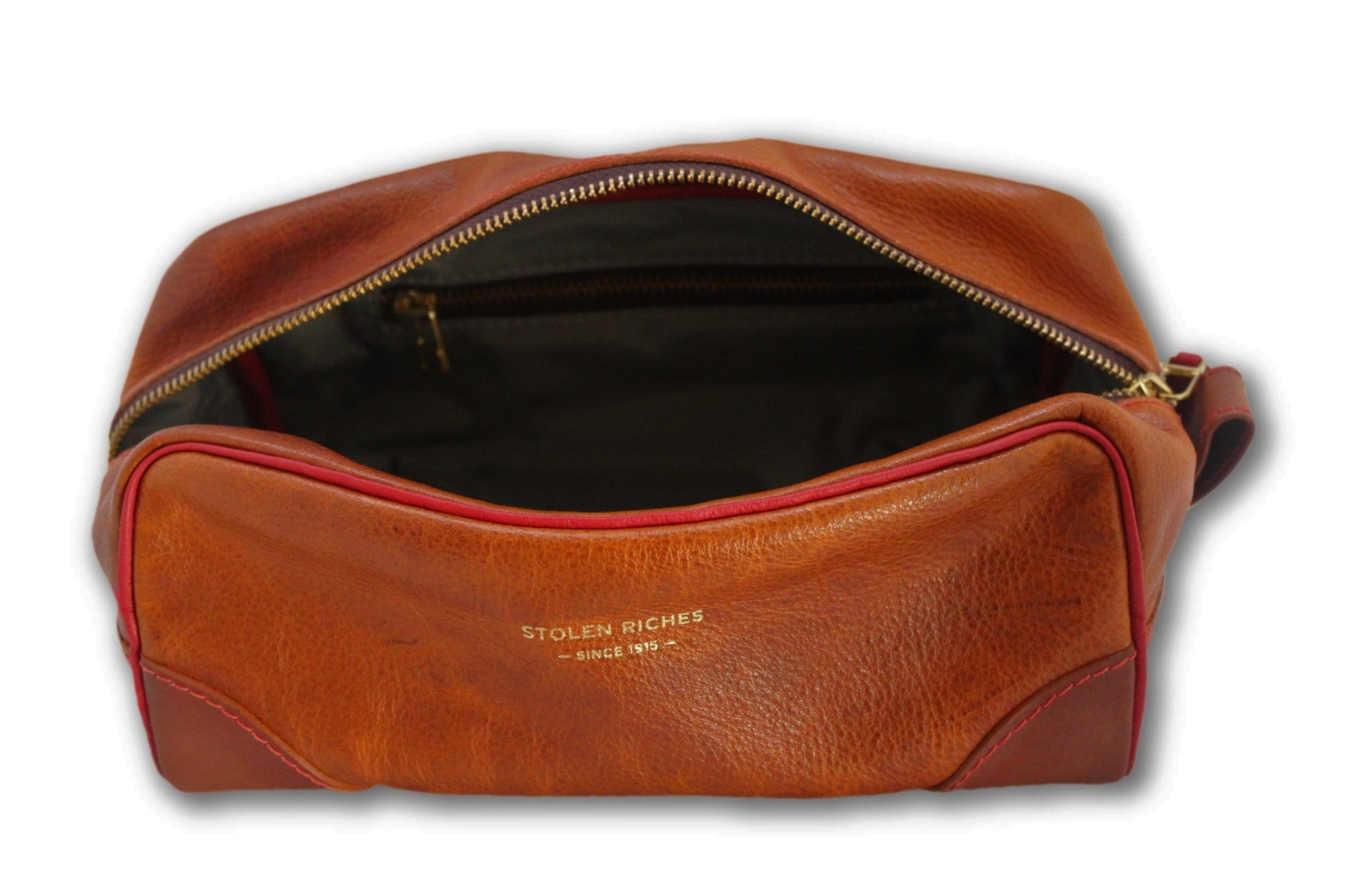 Brown Dopp Bag - Stolen Riches