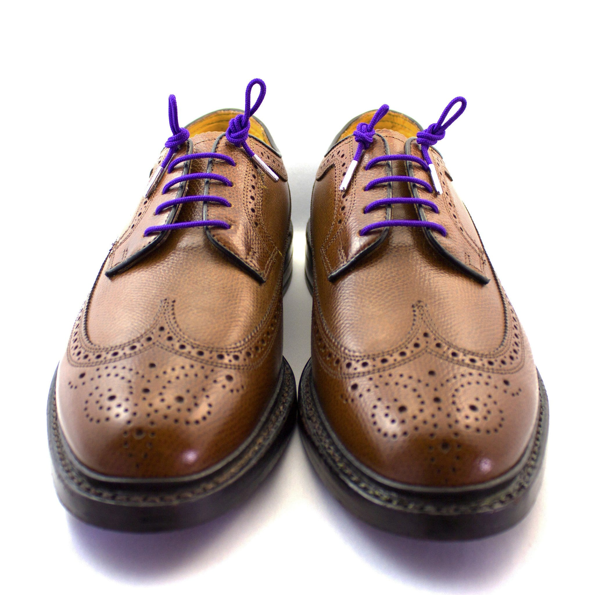 "Purple laces for dress shoes, Length: 27""/69cm-Stolen Riches"