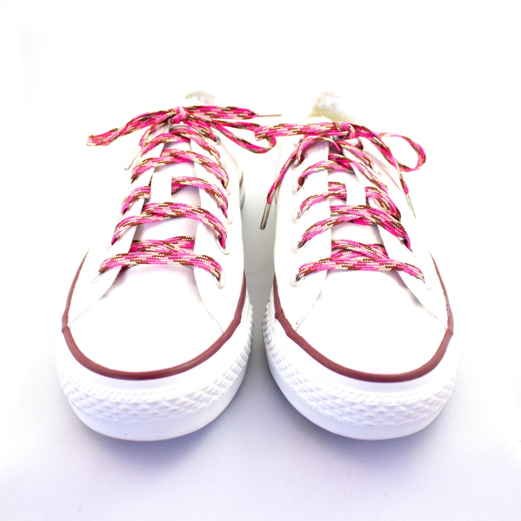 "Camo pink laces for sneakers (Length: 45""/114cm) - Stolen Riches"