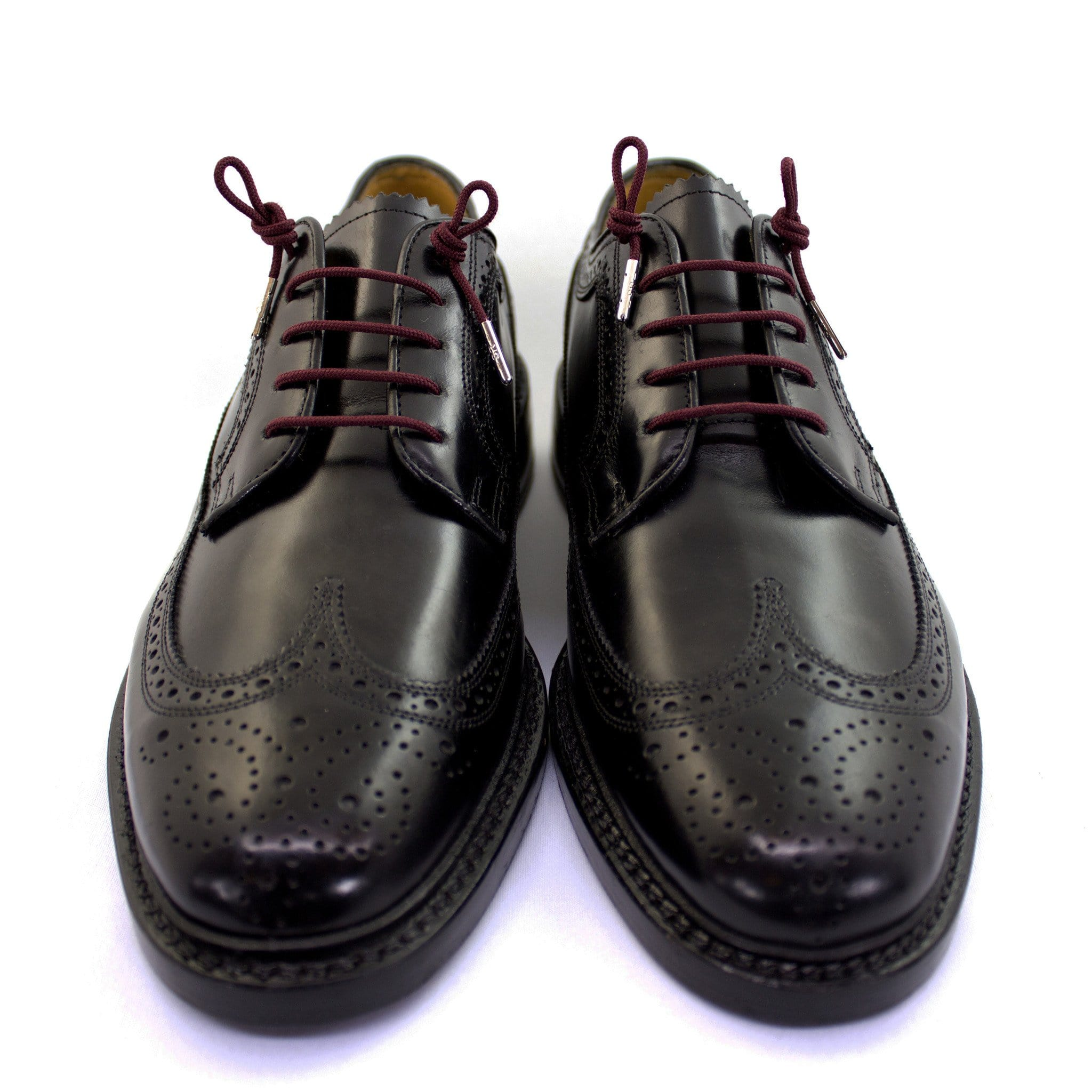 "Burgundy laces for dress shoes, Length: 27""/69cm-Stolen Riches"