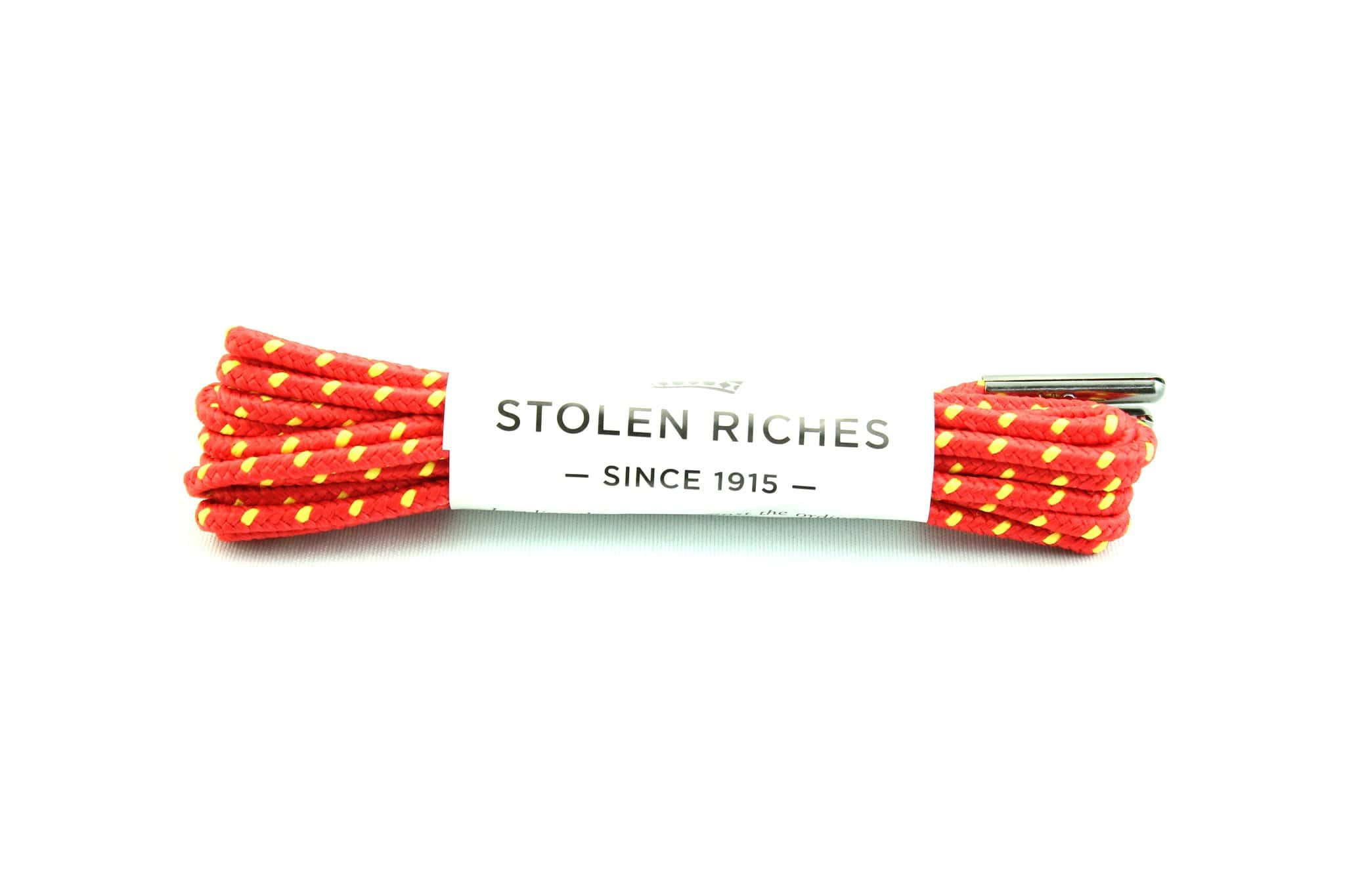 "Red and yellow laces for boots (Length: 54""/137cm) - Stolen Riches"