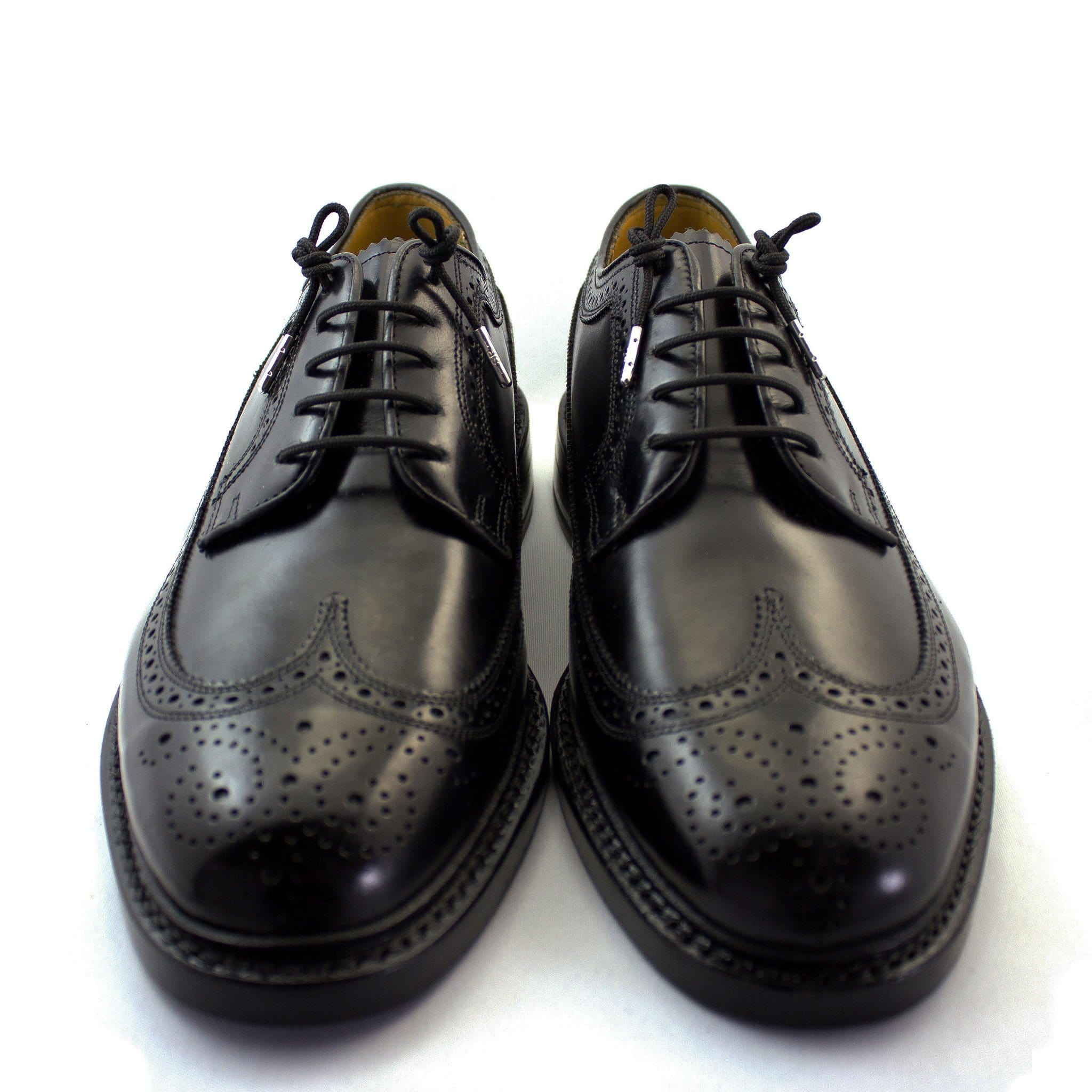 "Black laces for dress shoes, Length: 27""/69cm-Stolen Riches"