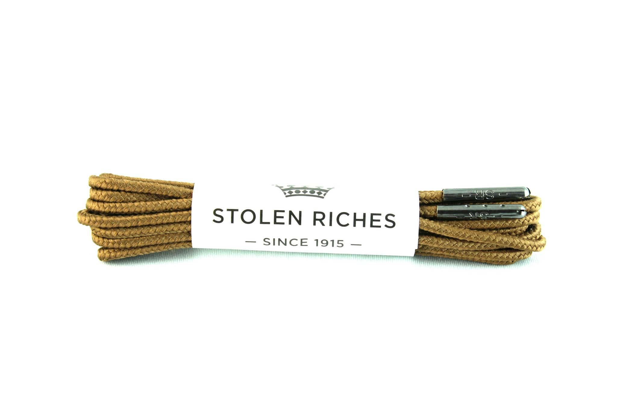 "Brown laces for boots (Length: 54""/137cm) - Stolen Riches"