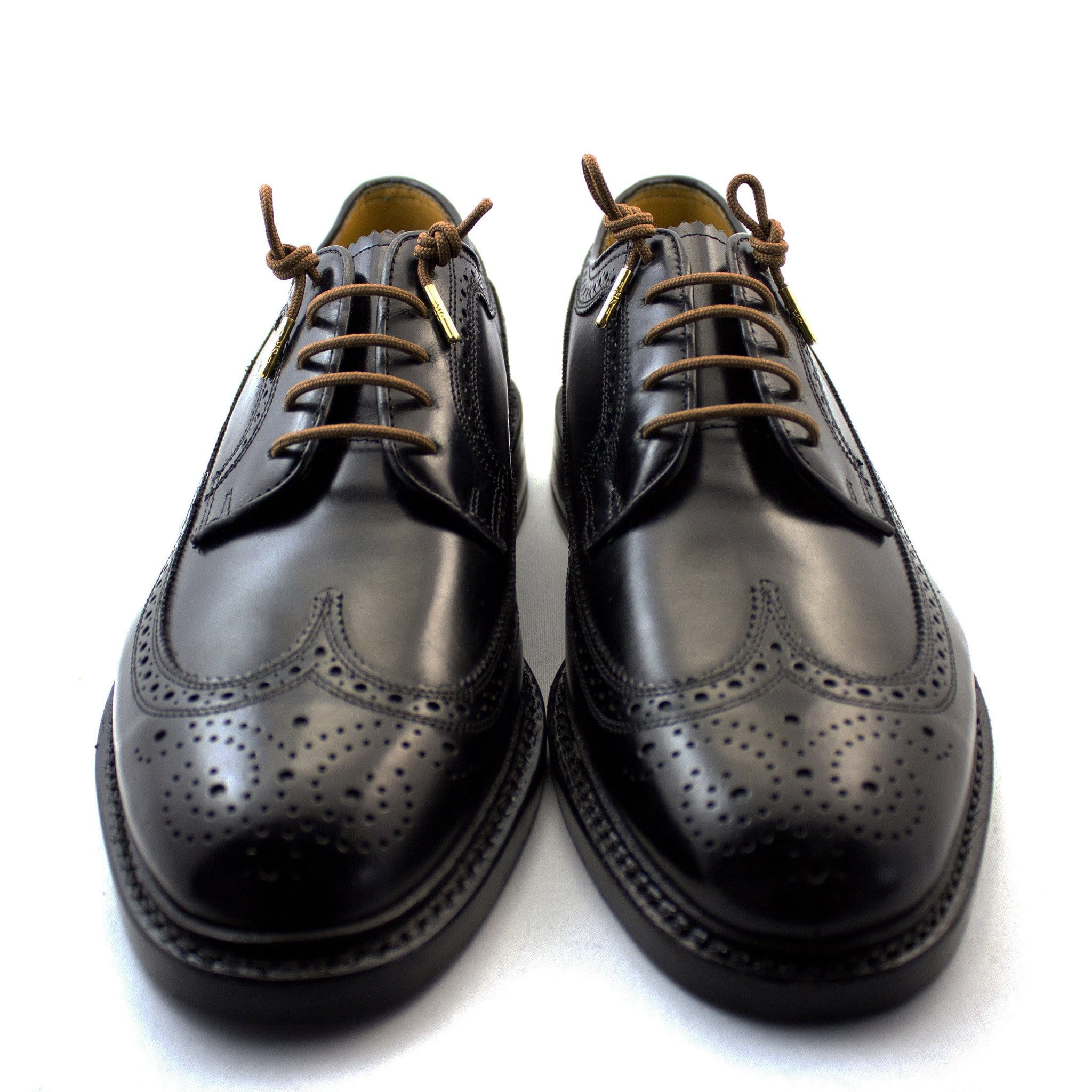 "Brown laces for dress shoes, Length: 32""/81cm-Stolen Riches"