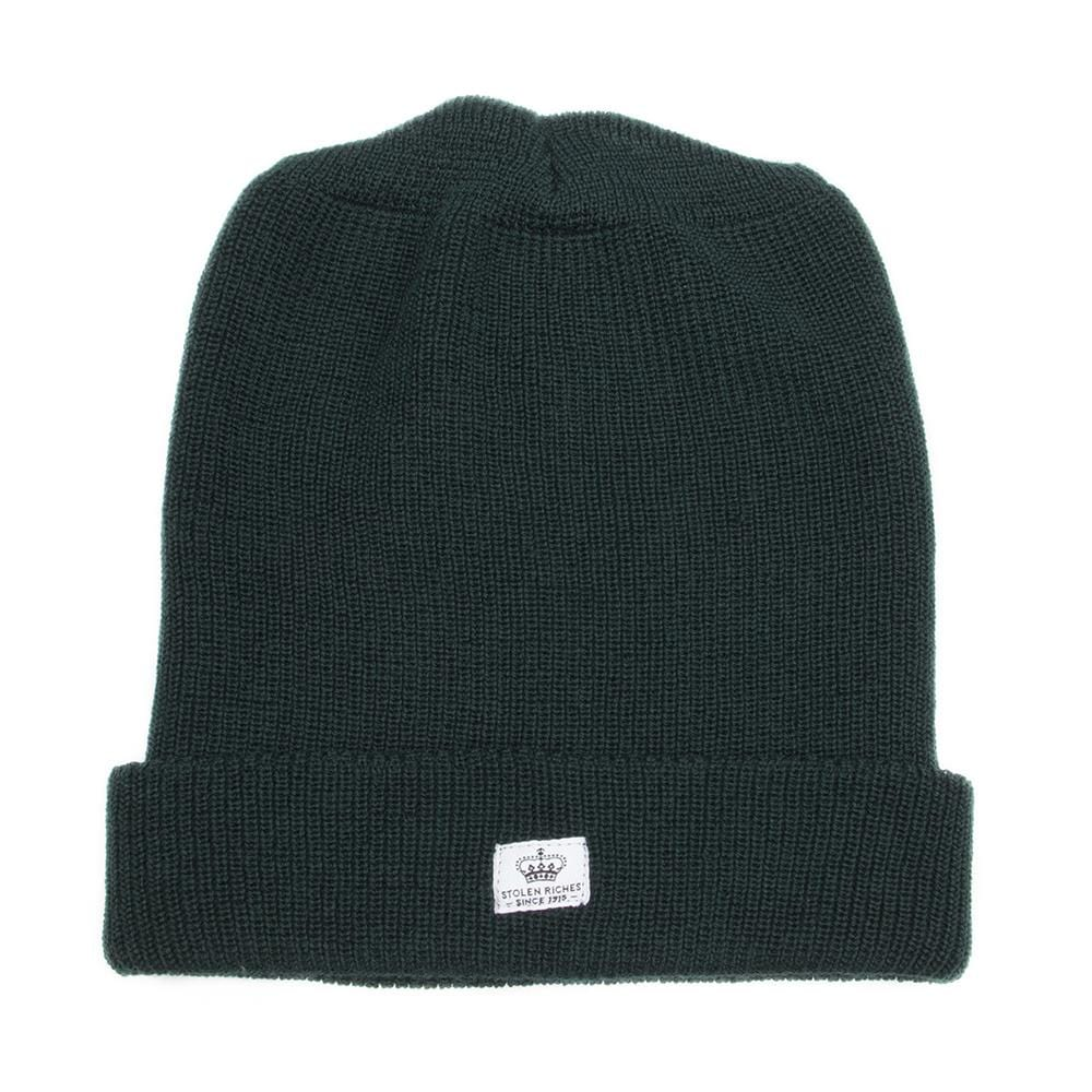 Algonquin Green Wool Toque - Stolen Riches