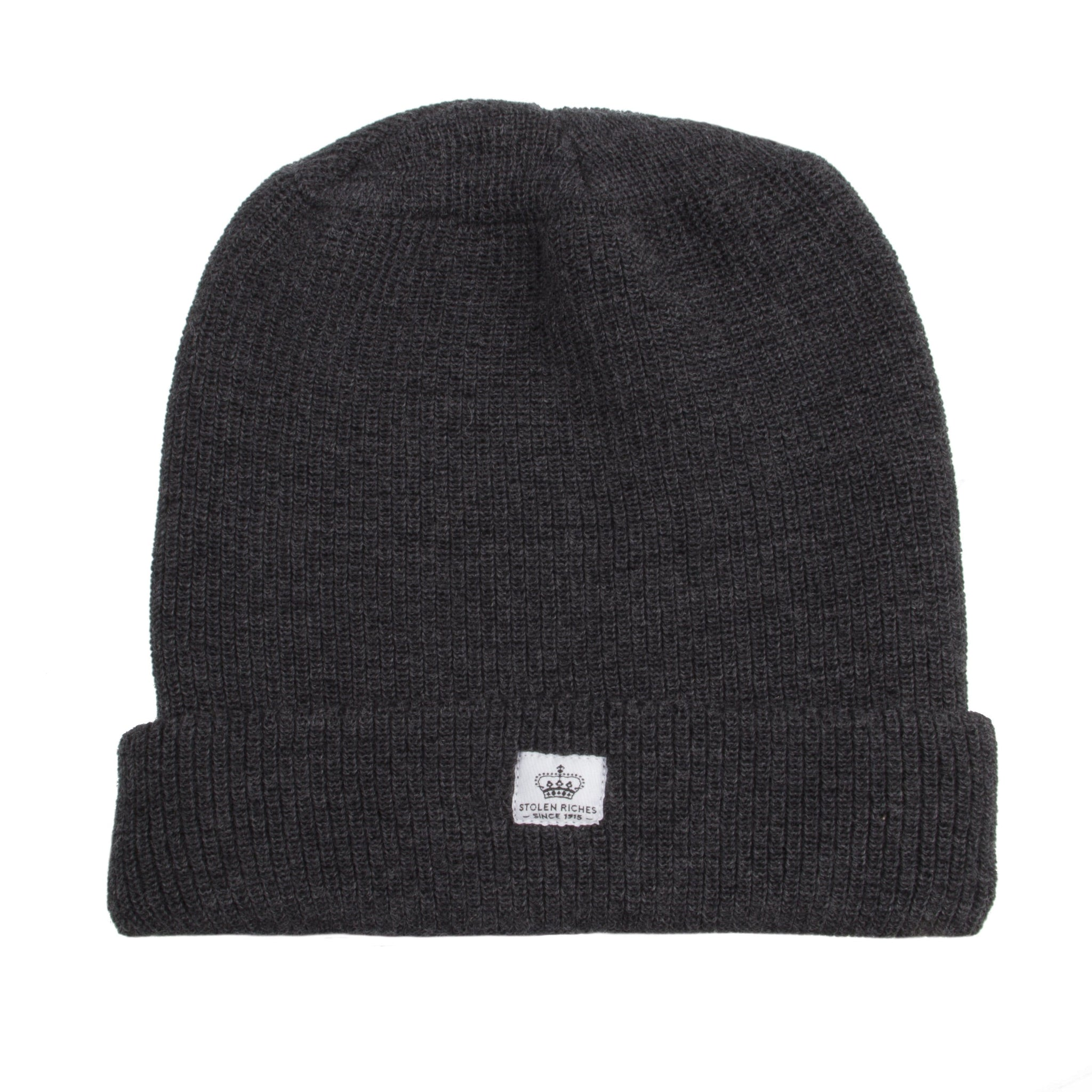 Charcoal Charlie Wool Toque - Stolen Riches