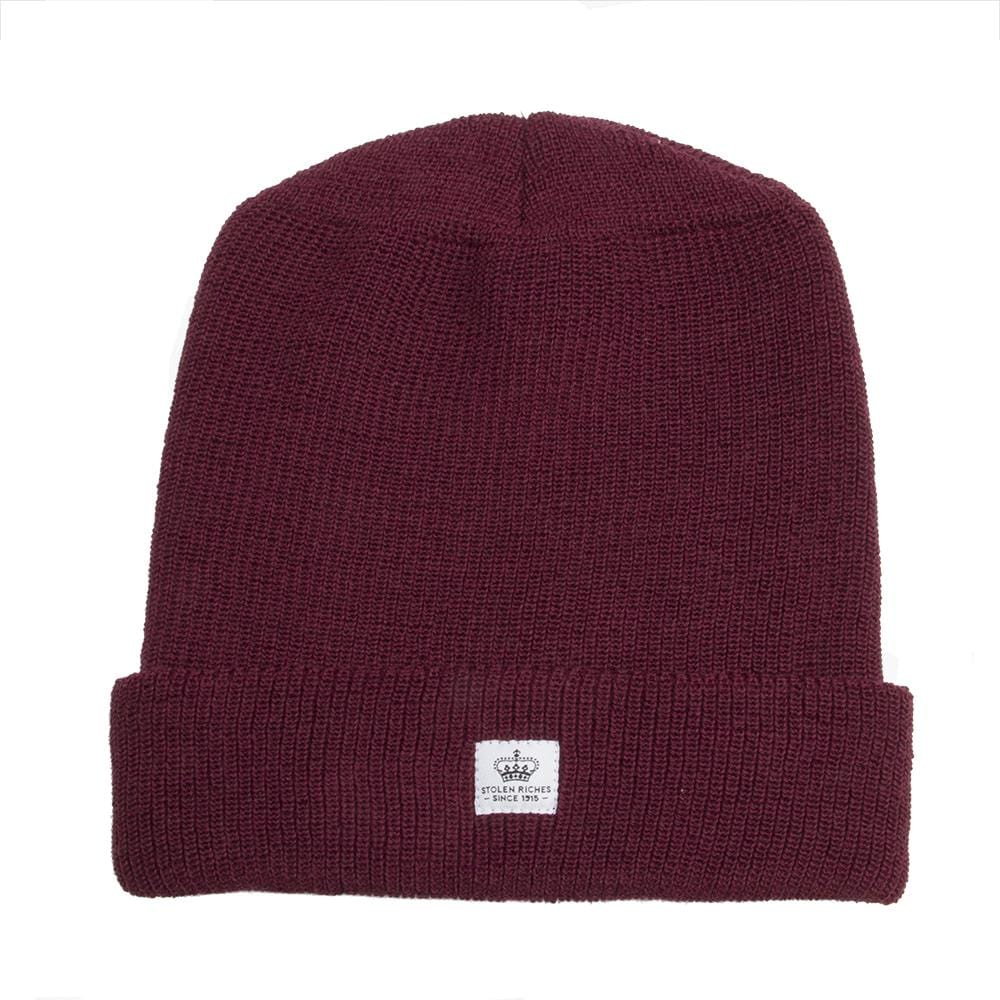 Der Alte Burgundy Wool Toque - Stolen Riches