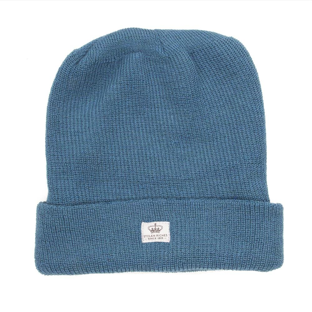 Inlet Blue Wool Toque - Stolen Riches