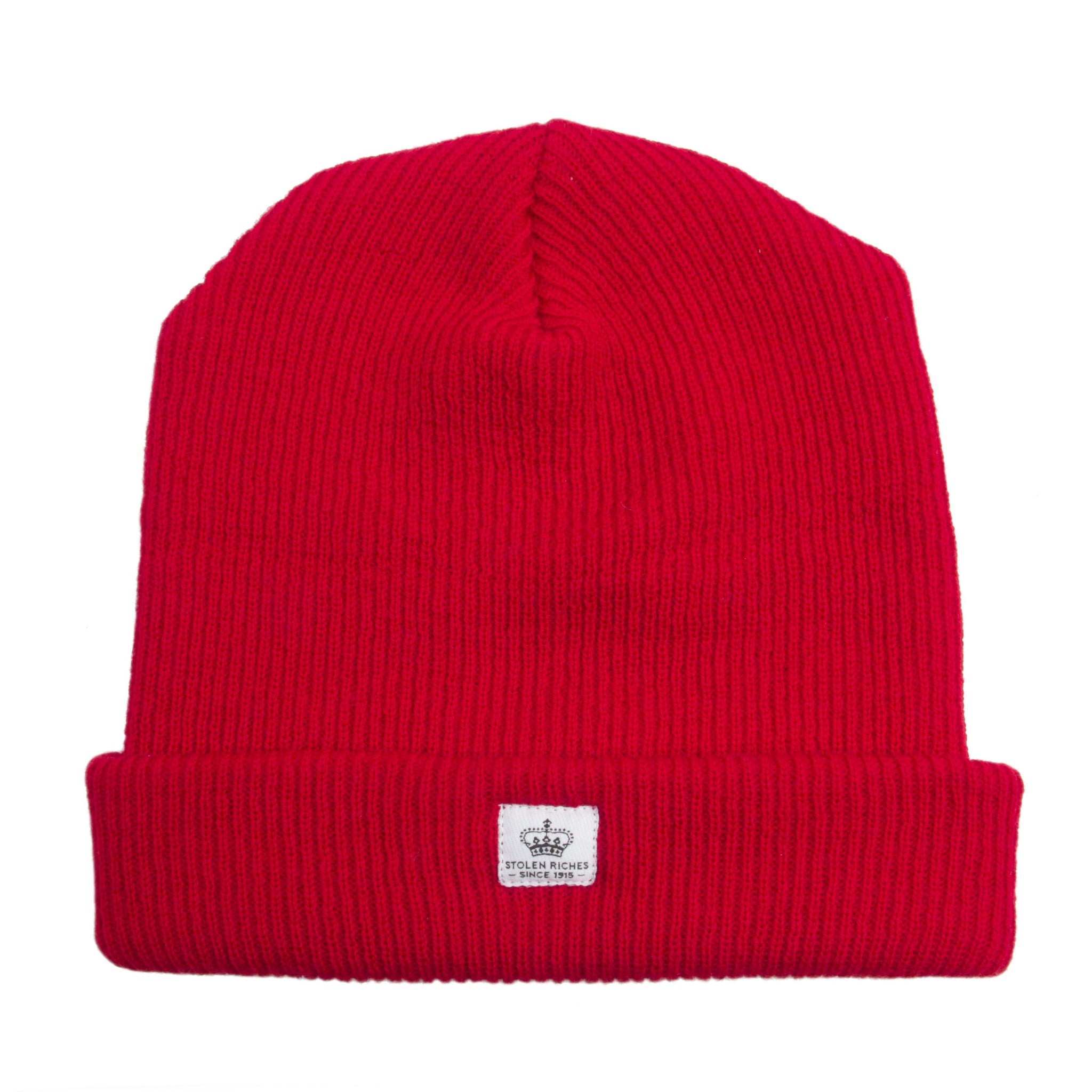 Portsalon Red Wool Toque - Stolen Riches