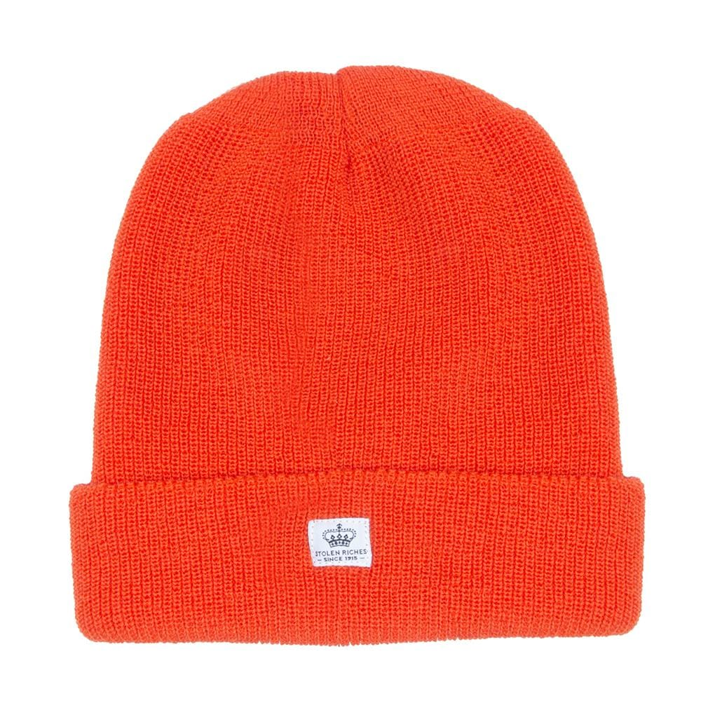 Tiqui Orange Wool Toque - Stolen Riches