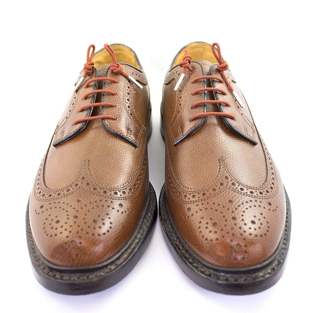 "Light brown laces for dress shoes, Length: 32""/81cm-Stolen Riches"
