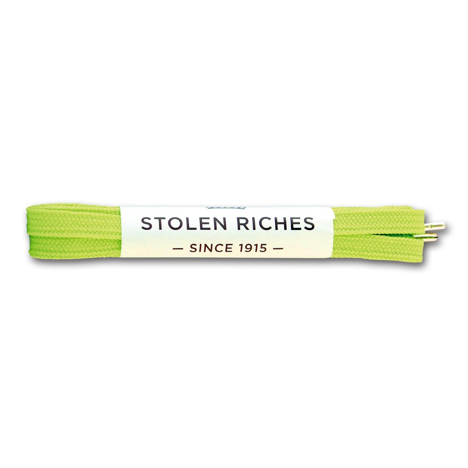 "Neon green laces for sneakers (Length: 45""/114cm) - Stolen Riches"