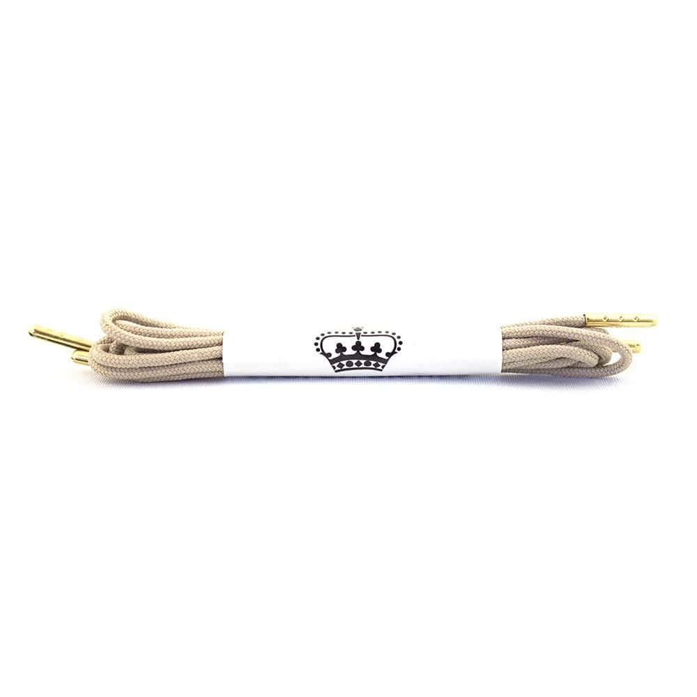 "Beige laces for dress shoes, Length: 32""/81cm-Stolen Riches"