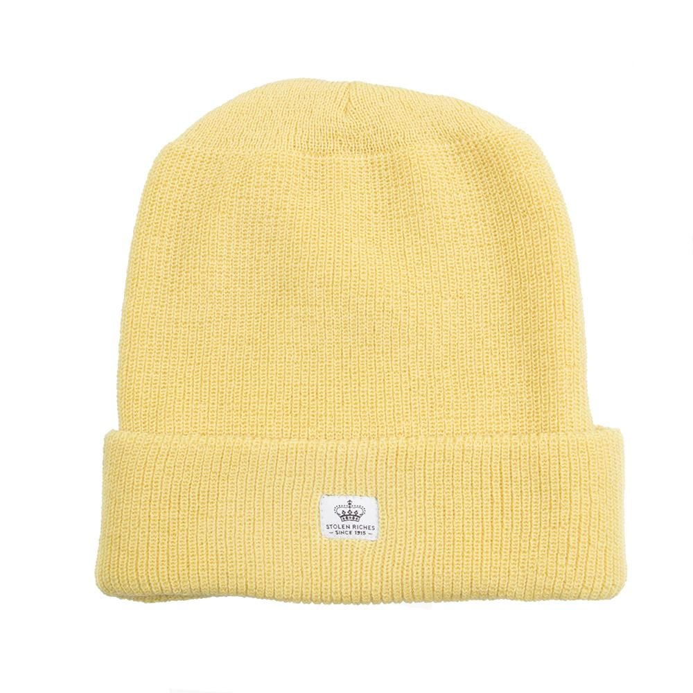 Yum Yum Yellow Wool Toque - Stolen Riches