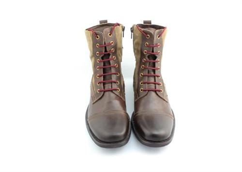 "Burgundy laces for boots (Length: 54""/137cm) - Stolen Riches"