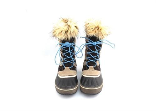 Blue laces for winter boots-Stolen Riches