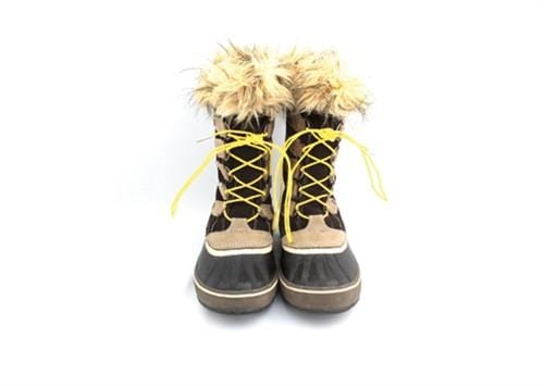 "Yellow laces for winter boots (Length: 72""/183cm) - Stolen Riches"