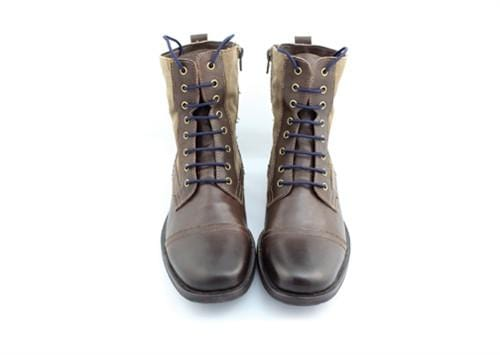 "Navy blue laces for winter boots (Length: 72""/183cm) - Stolen Riches"