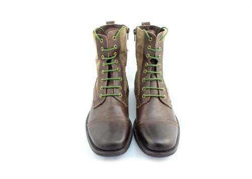 "Camo green laces for boots (Length: 72""/183cm) - Stolen Riches"