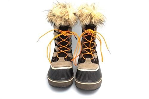 "Bright orange laces for winter boots (Length: 72""/183cm) - Stolen Riches"
