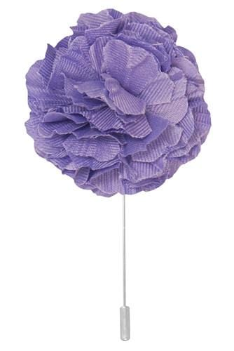 Cotton Lapel Pin - Lavender - Stolen Riches