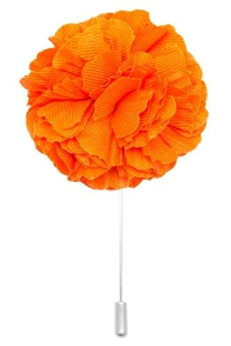 Cotton Lapel Pin - Tiqui Orange - Stolen Riches