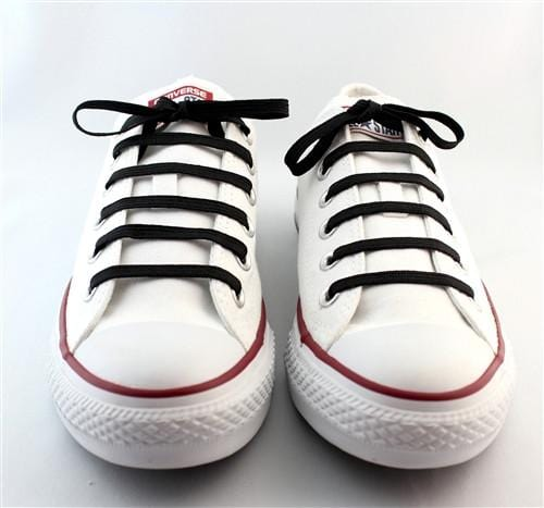"Black laces for sneakers (Length: 45""/114cm) - Stolen Riches"