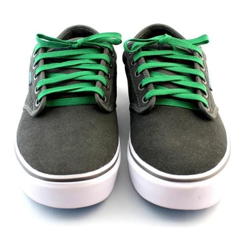 "Emerald green laces for sneakers (Length: 45""/114cm) - Stolen Riches"