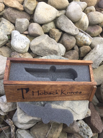 Hoback Custom-Fit Wooden Display Box