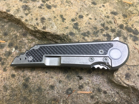 Kwaiback Ti w/ CF Inlay, Cru-Wear Blade Steel