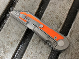 Kwaiback Ti w/ Hunter Orange Inlay, CTS-XHP Blade Steel