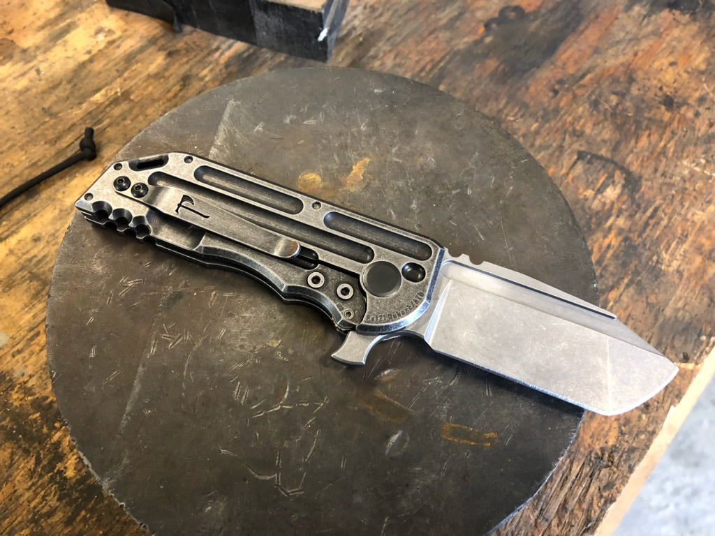 Hoback/Alphahunter Collab Black Stallion WarHorse Folder, Darkwash
