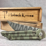 Kwaiback Ti Brown/Green Tiger Stripe Camo Ano