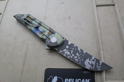 Kwaiback Ti Brown/Green/Blue Camo Ano