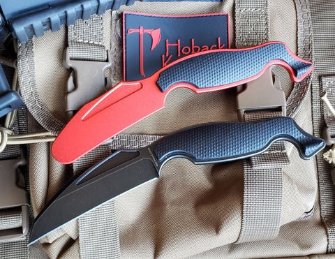 Talim Combatives Fixed Blade System -- Live Blade Only