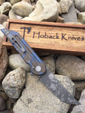 Kwaiback Ti Blue/Brown Camo Ano