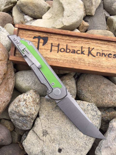 Kwaiback CF w/ Toxic Green Inlay Cru-Wear Stonewash