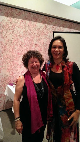 with Luanne Mareen in Melborne, Australia – Hand Analysis and business coaching