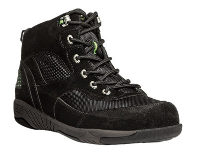 Black/Electric Lime Propet M0606 Miller Men's Shoe - Diabetic Shoes
