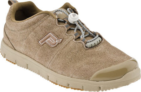 Denim Taupe Propet W3218 TravelWalker Suede Women's Shoe -Diabetic Shoes