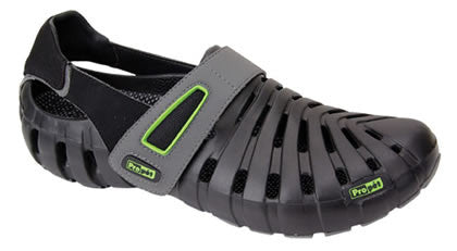 Black/Electric Lime Propet MBB003 Voyager Men's Shoe - Diabetic Shoes
