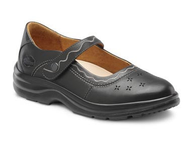 Dr. Comfort Black Sunshine Women's Dress Shoe | Diabetic Shoes | Orthopedic Shoe