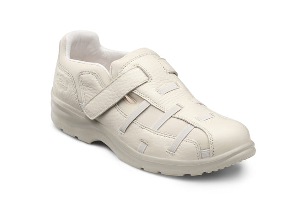 Dr. Comfort Beige Betty Women's Fisherman Sandal | Diabetic Shoes | Orthopedic Shoe